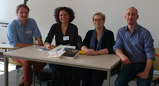 v.l.n.r.: S. Scheelhaas, A. v. Poser, B. Mann, D. Kofahl