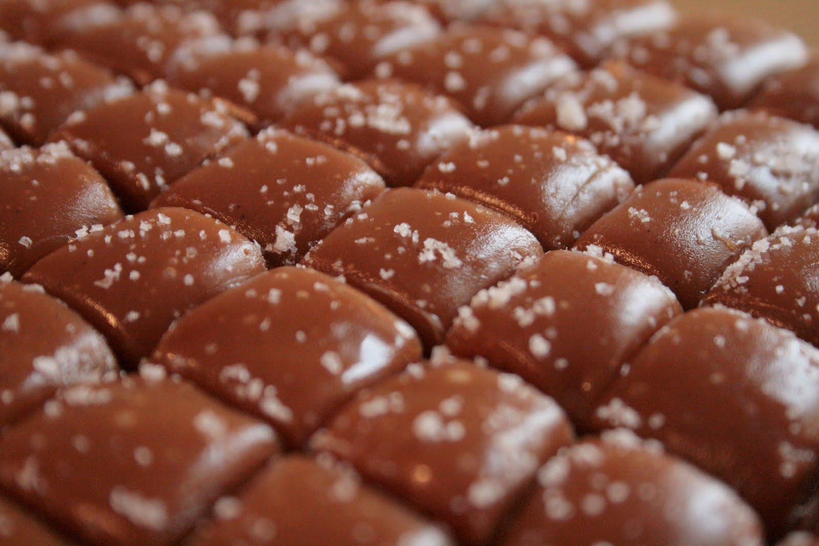 Indigo Scones: Vanilla Bean Caramels