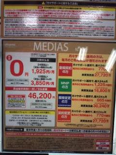 medias の価格