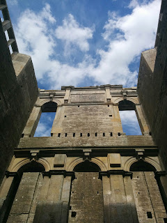 A View From Inside Lyveden New Bield