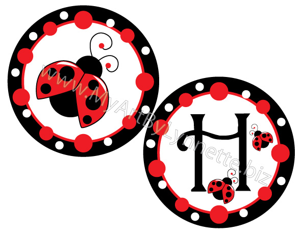 ladybug happy birthday banners birthday party ideas