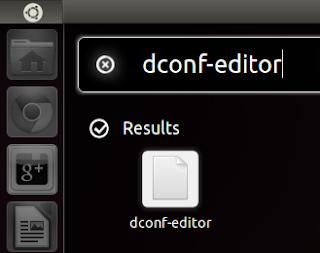 Indicador de cuentas de usuario, editor de dconf, ganar espacio en la pantalla ubuntu