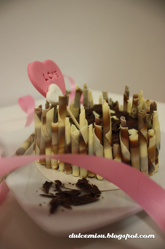 tarta, corazón, cheesecake, chocolate, fondant, dulcemisu,