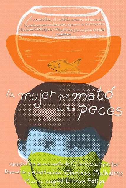 """Obra """"La mujer que mató a los peces"""" en el Centro Cultural del Bosque"""