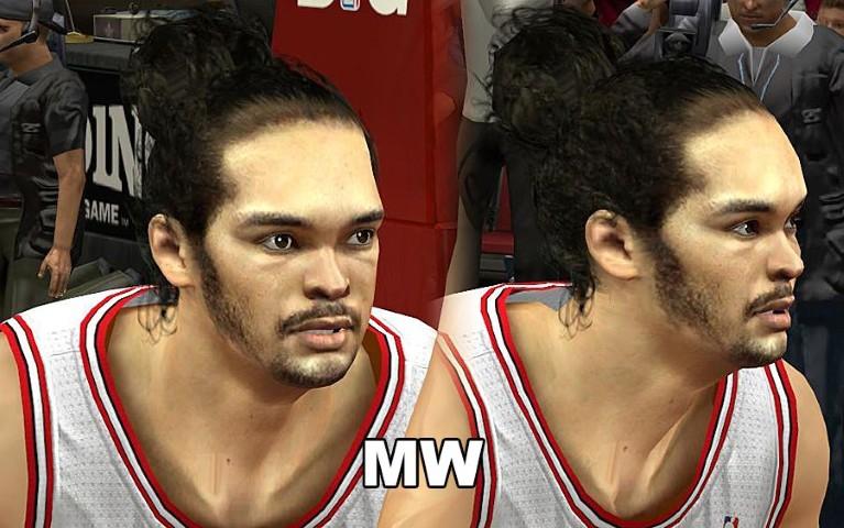 NBA 2K13 Chicago Bulls Cyber Face Pack