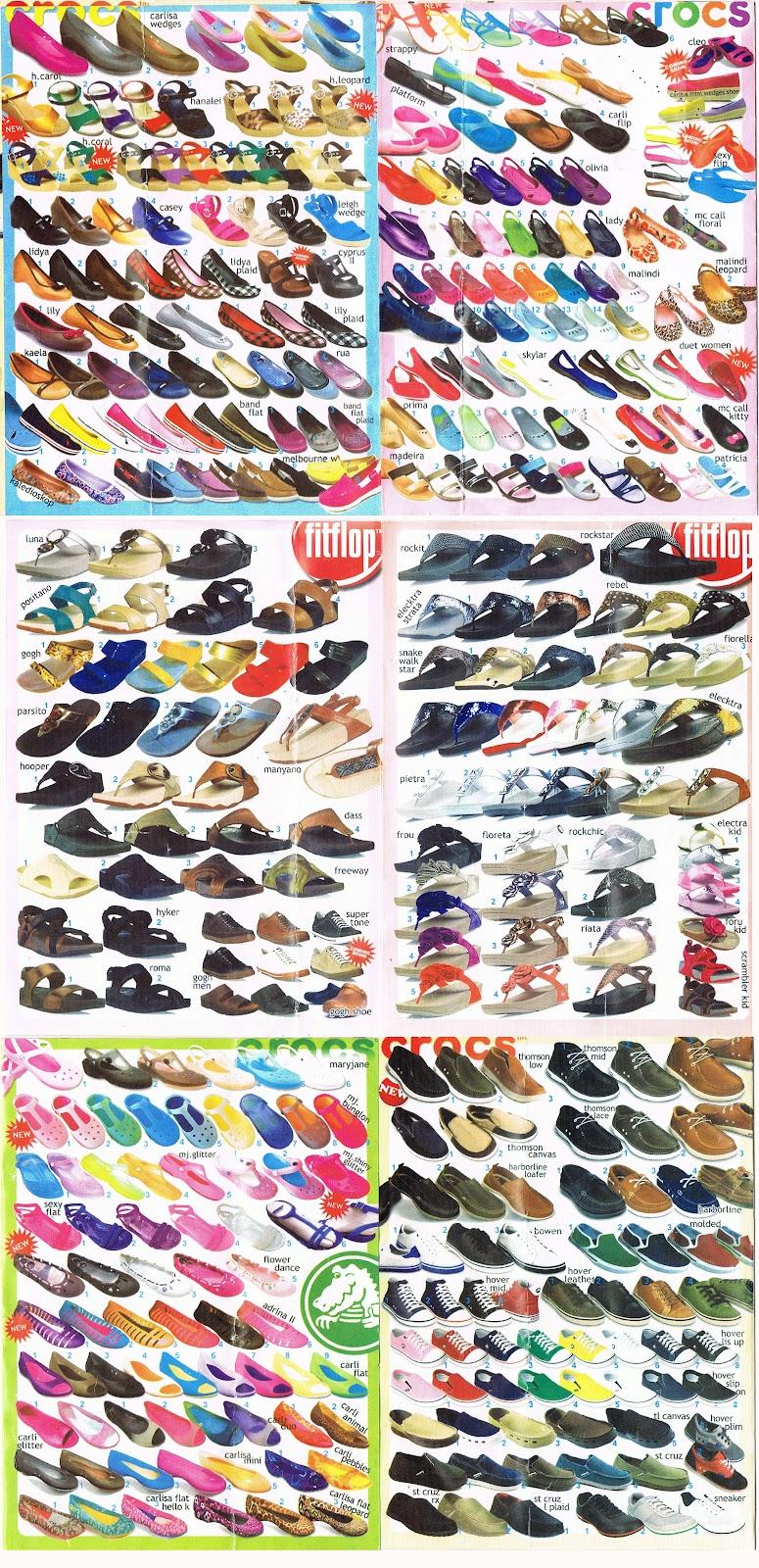 Daftar Katalog lengkap Sepatu Crocs : Wanita - CROCS ...