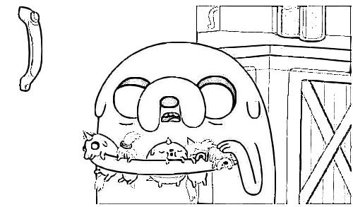 Dibujos de Hora de Aventura para Imprimir y Pintar - Adventure Time ...