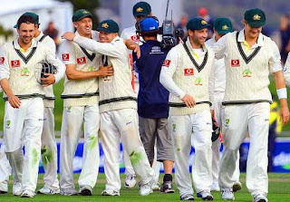 Australia wins first Test against Sri Lanka