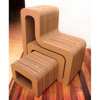 Interiorismo diy muebles de cart n muy f ciles de hacer - Imagenes de muebles de carton ...