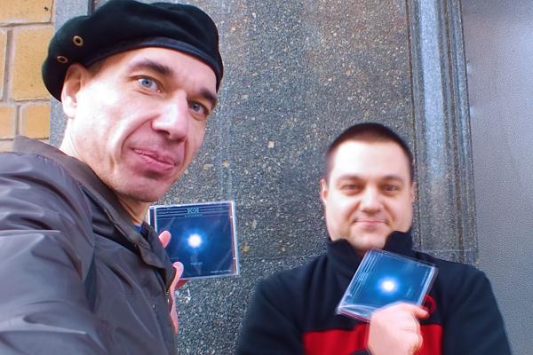 Альбом «THEOS» - релиз CD-версии | проект «K-KVADRAT» композиторов Андрея Климковского и Игоря Колесникова