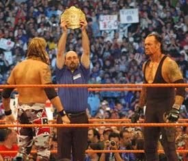 Undertaker vs Edge