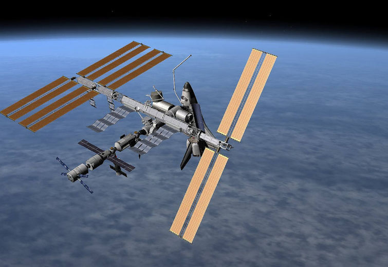 Russia Send Robot Cargo Ship to Space Station