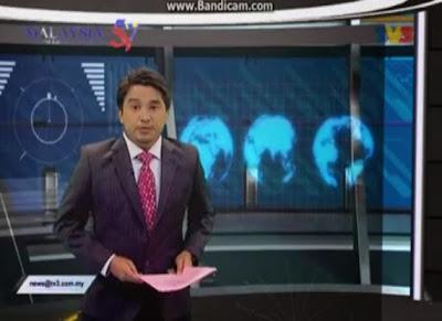 Pembaca Berita TV3 Izwan Azir Mengigil Baca Berita Inggeris