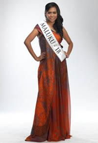 MISS INDONESIA 2011 CONTESTANT - Ingrid Beatrix S