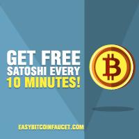 Easy BitCoin Faucet