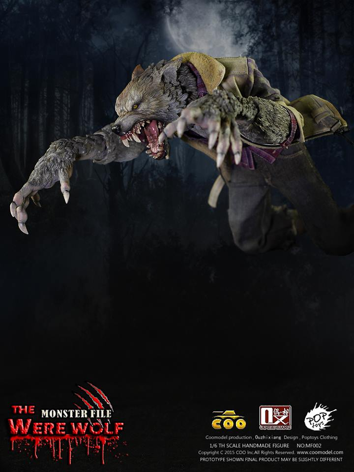 COOMODEL X OUZHIXIANG - Monster File Series - The Were Wolf E11