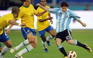ملخص و اهداف مباراة الارجنتين والبرازيل 4-3 في مباراة ودية 9-6-2012