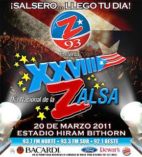 ► XXIX Dia Nacional de la Zalsa Puerto Rico 2012