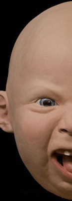 Realistic Baby Head Masks Seen On www.coolpicturegallery.us