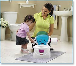 how to potty train a girl fast