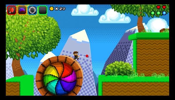 Screenshot of Wii U eShop game Another Castle