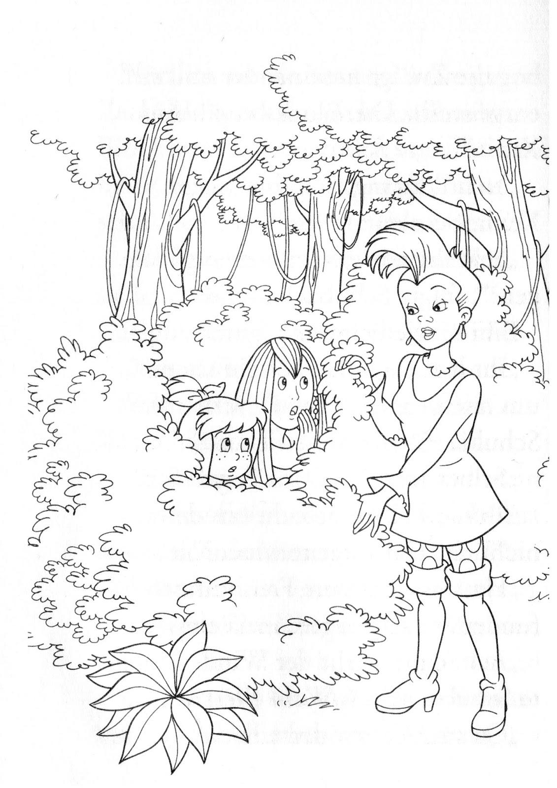 Bibi Und Tina Auf Amadeus Und Sabrina Ausmalbilder Ausmalbilder