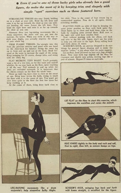 simple exercise routine 1960 style