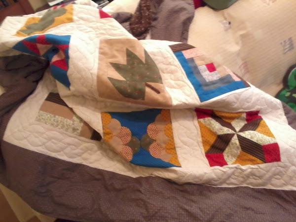 Como hacer manta patchwork aprender manualidades es - Como hacer mantas de patchwork ...