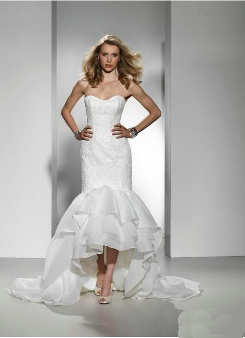 Whiteazalea high low dresses stand out with your high low for Wedding dress high low
