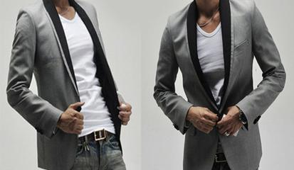 Model Blazer Pria Korea Terbaru