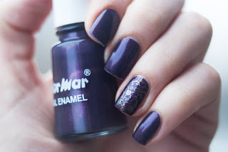Flormar 349, stamping nail art, m73