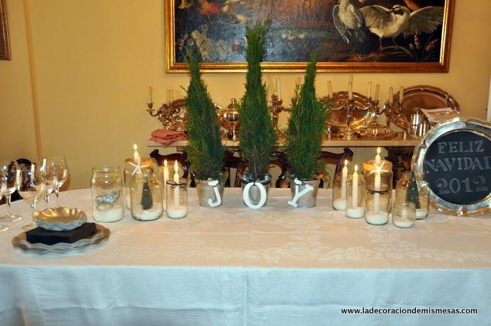Decoraci n de la mesa de navidad 2012 - Decoracion de navidad para la mesa ...