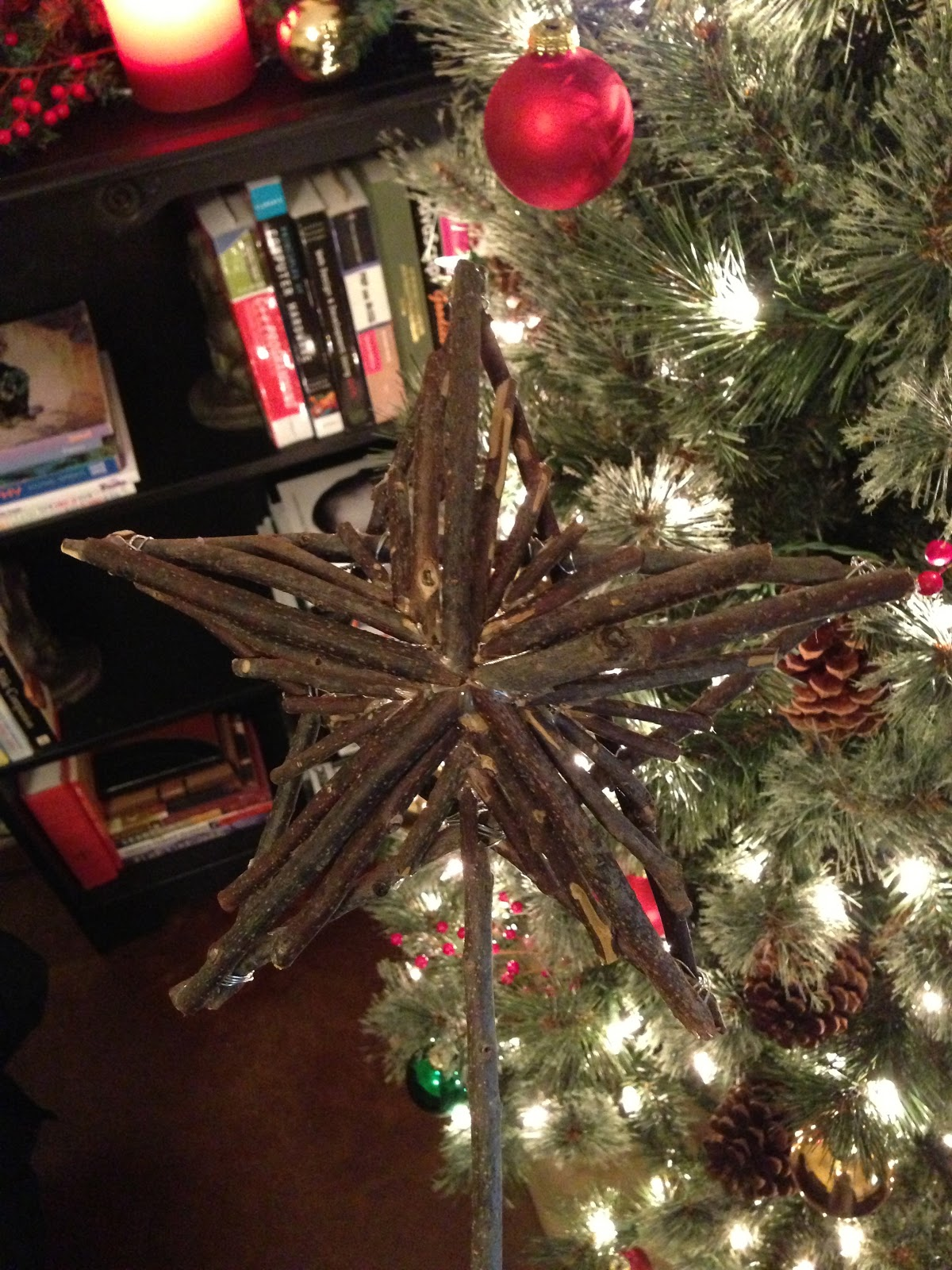 M S Projects Rustic Star Tree Topper