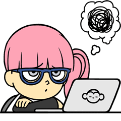 Sticker Facebook Hacker Girl