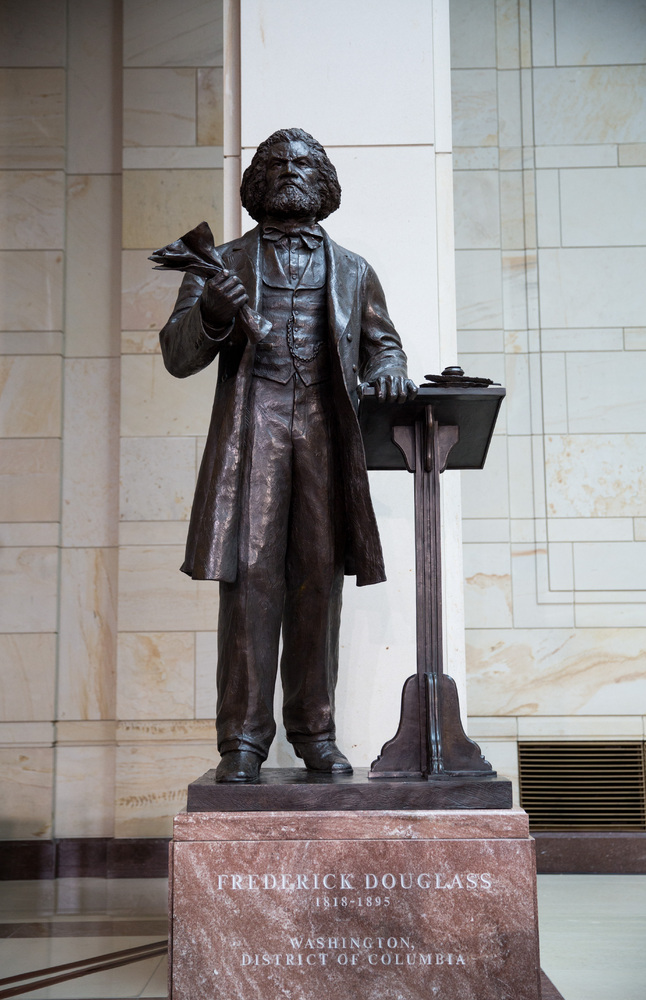 Frederick Douglass Statue Larry James&#39...