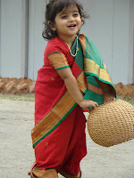 Baby in saree picture of babies images of kids