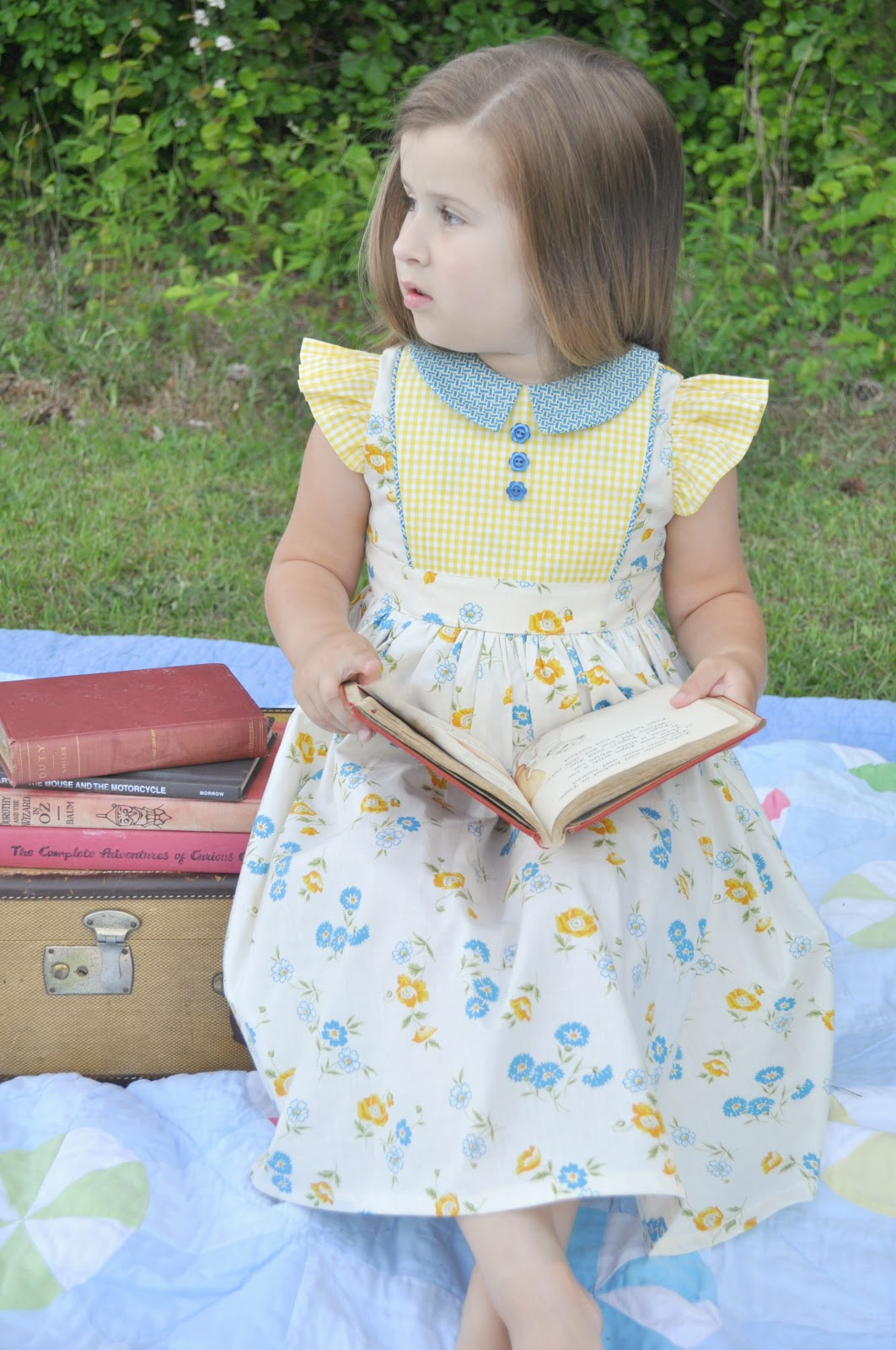 Georgia Vintage Dress Pattern: Testers Part 1 - The Cottage Mama