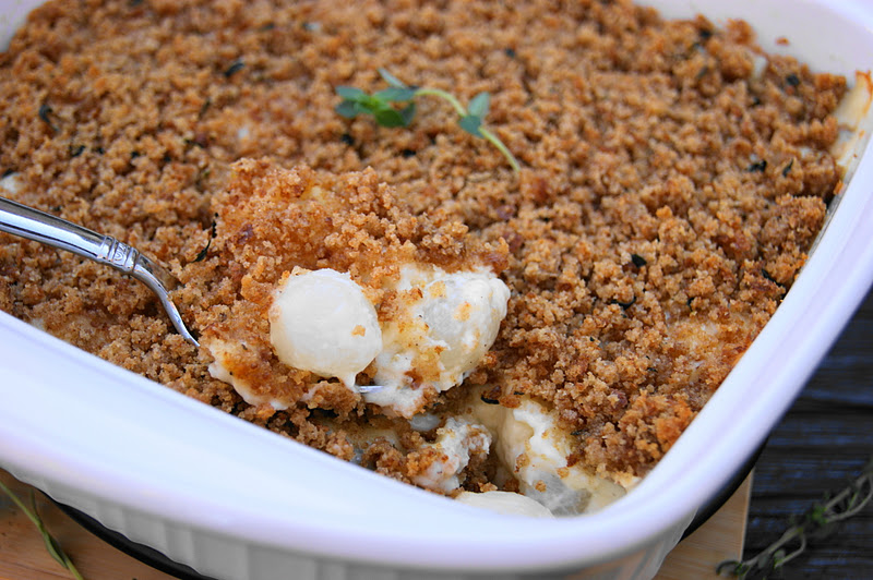 ... : Creamed Pearl Onion Gratin ~ a Thanksgiving favorite at our house