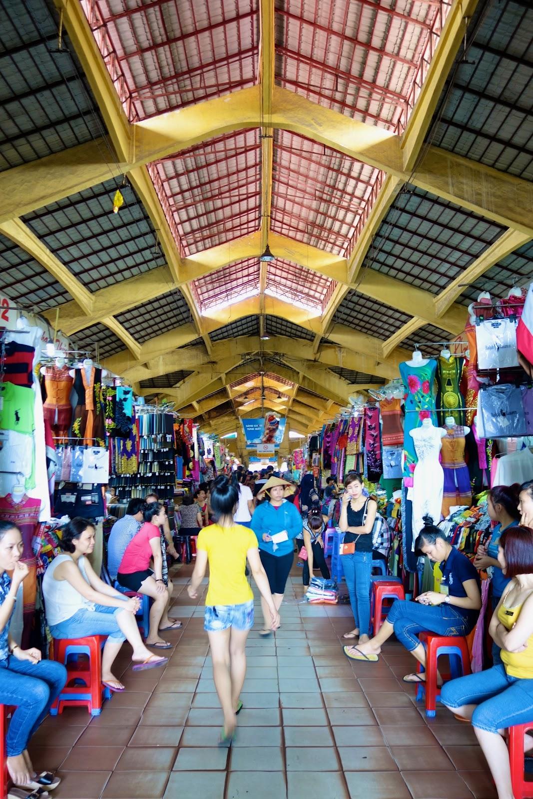 Cho Ben Thanh Market Vietnam 2015