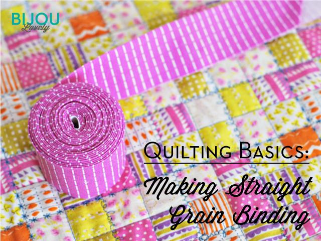 Bijou Lovely: Quilting Basics: Binding Series : quilting binding - Adamdwight.com