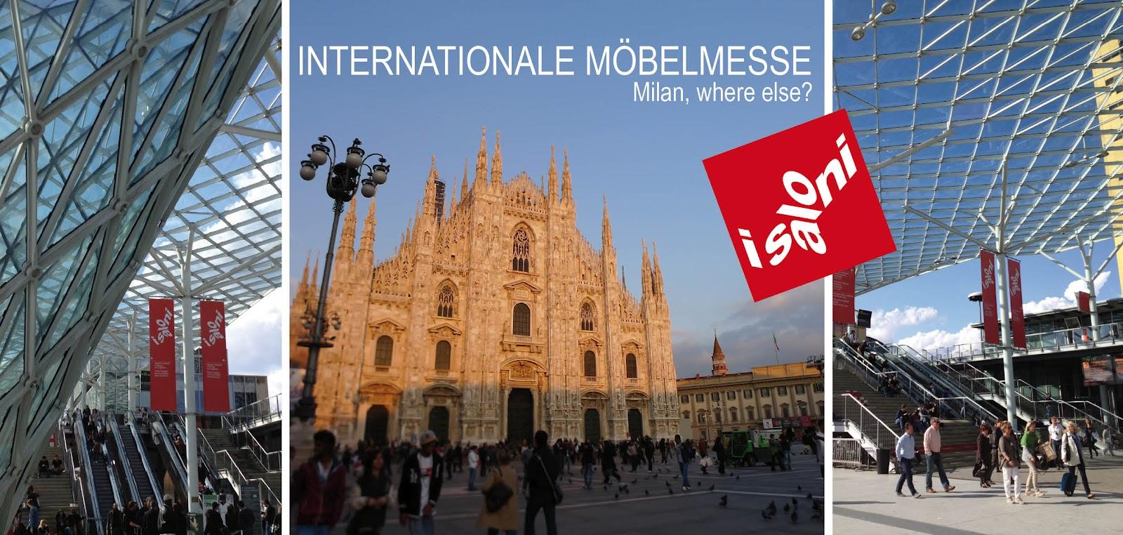 Möbelmesse Mailand 2012 - Salone del Mobile | leimgruber innenraum