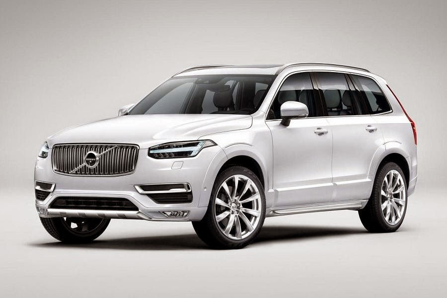 Volvo XC90 (2015) Front Side