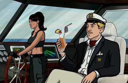 lana turns archer into her personal sex slave cartoon