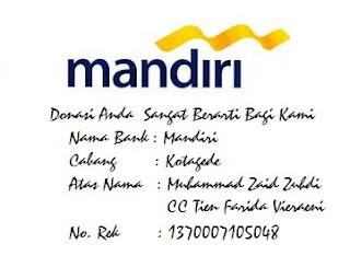 Donasi untuk zaid info