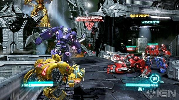 Transformers İntikam Yemini Oyunu