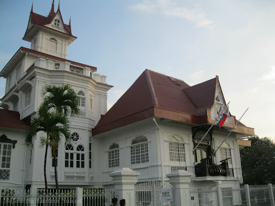 Side view of Aguinaldo Shrine