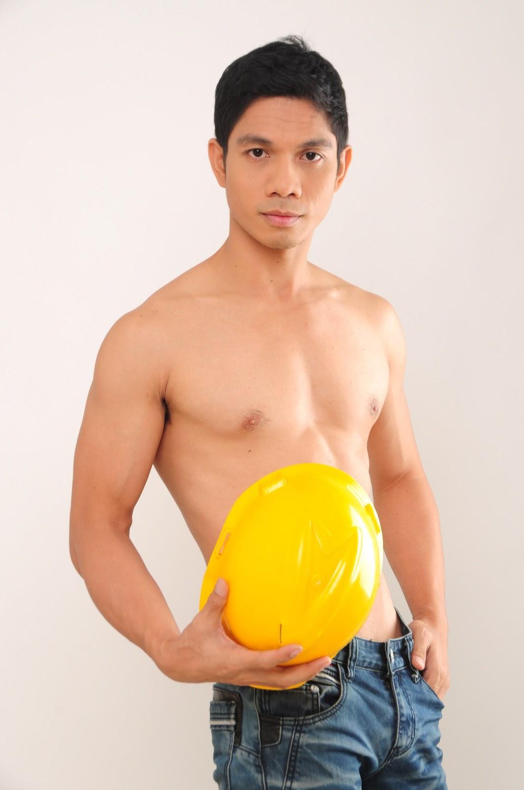 Miguel Alcantara Shirtless for Gapang