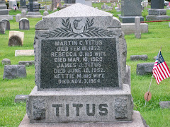 The Titus Family Monument