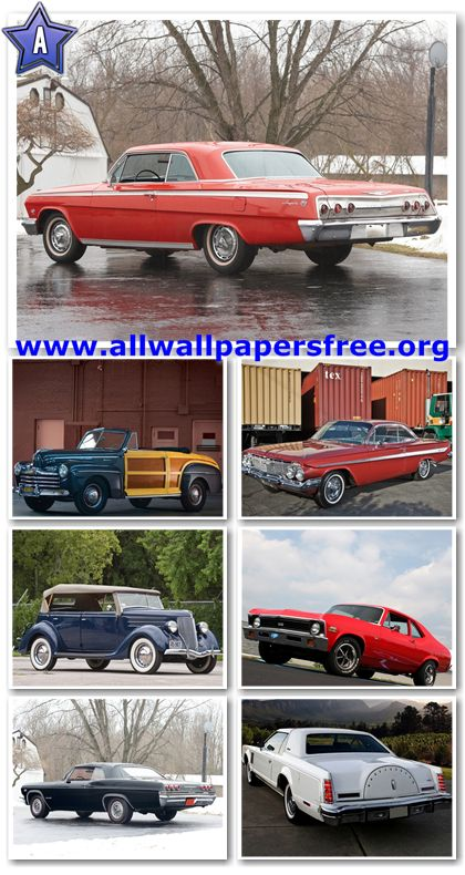 80 Amazing American Classic Cars Wallpapers 1280 X 1024 [Set 2]