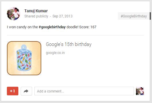 Google candy